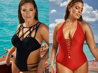 6ad7939a8e Ashley Graham just put out a stunning swimsuit line - HelloGiggles