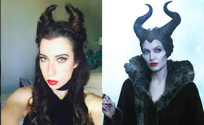 This Girl S Maleficent Inspired Hair Is Serious Hairgoals