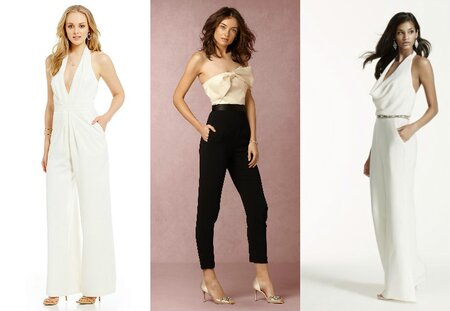 a84eef9e821 11 chic AND affordable wedding jumpsuits — because yes you can wear pants  on your big day