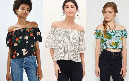 6b9bb8ac6cfd3e 11 off-the-shoulder tops you need to own to complete your summer wardrobe