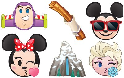 Disney's new emojis are out and there's a churro emoji because
