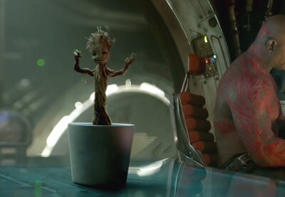 The Internet Is Having A Meltdown Over The New Baby Groot In