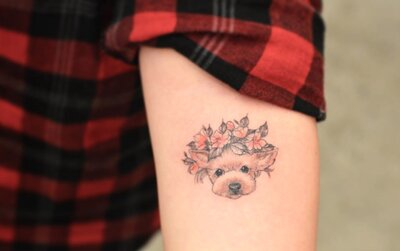 11 Sweet And Classy Dog Tattoos To Show Your Pup Your