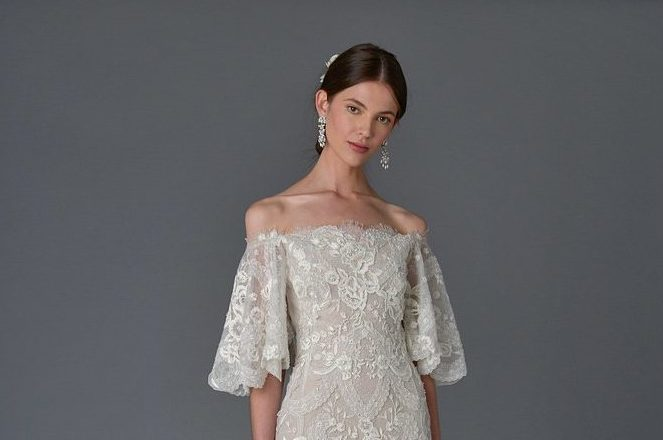 The number one bridal trend for 2017 is lace, and so we've found you the laciest of all lacy wedding dresses