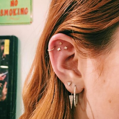 Constellation Ear Piercings Are The Lovely New Trend That Will