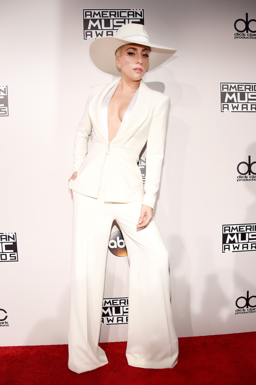 LOS ANGELES, CA - NOVEMBER 20:  Singer Lady Gaga attends the 2016 American Music Awards at Microsoft Theater on November 20, 2016 in Los Angeles, California.  (Photo by Kevin Mazur/AMA2016/WireImage)