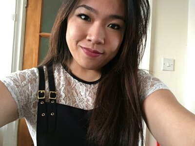 thick asian selfie