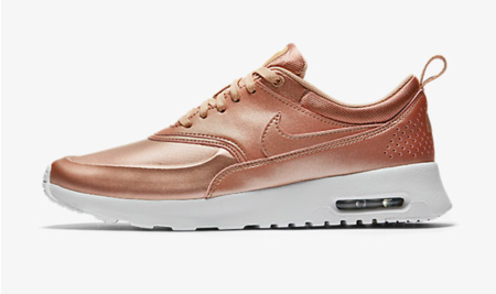 703559e37ac Nike just teamed up with Bandier to deliver us the most delicious rose gold  sneakers