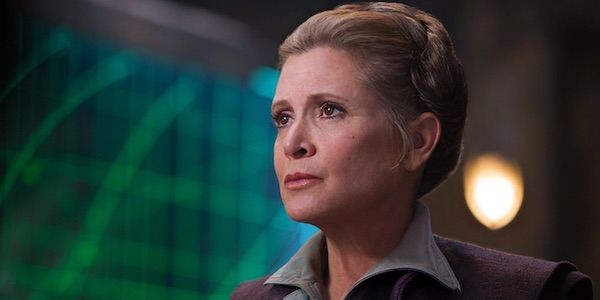 """Carrie Fisher had already finished filming """"Star Wars: Episode VIII"""" so Leia lives to fight another day"""