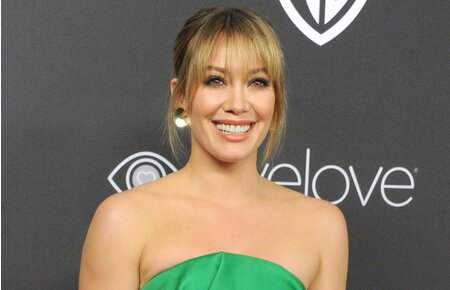 507a8d3f4d Hilary Duff s gorgeous glasses are all we want in this life ...