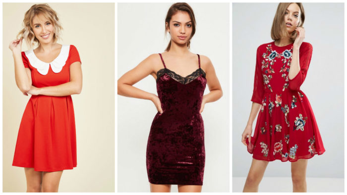 10 Perfect Little Red Dresses For Valentines Day This Year