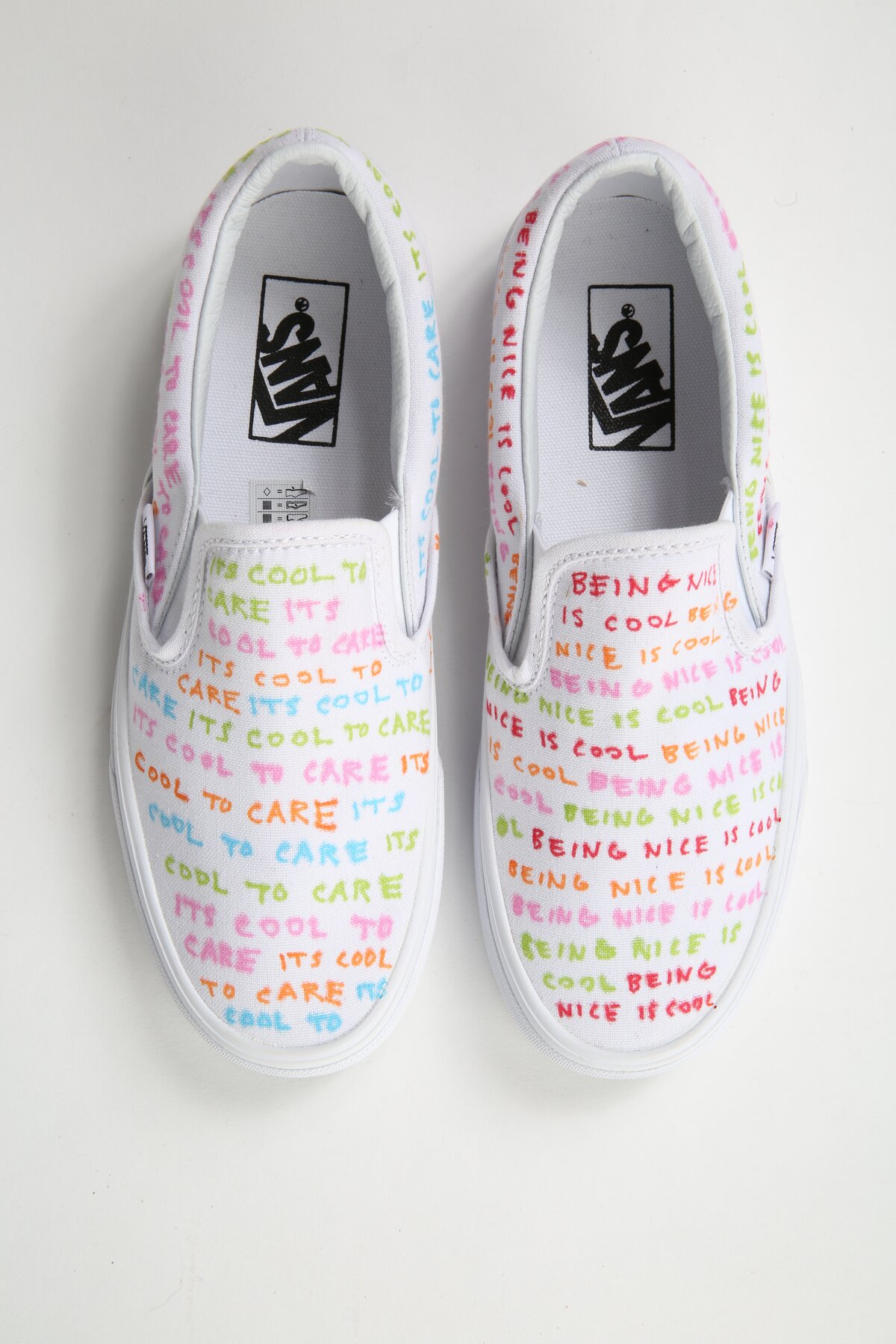 "8ba1515cf6 Courtesy Vans. Customized by Gillian Zinser. ""The Vans Custom Culture  competition ..."