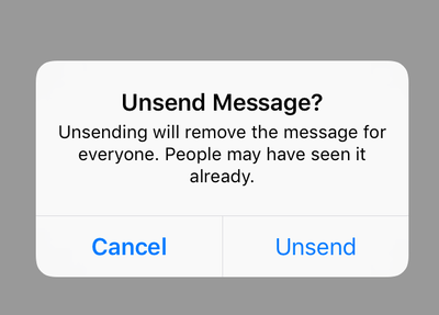 Game-changer: We can actually *unsend* our Instagram DMs - HelloGiggles
