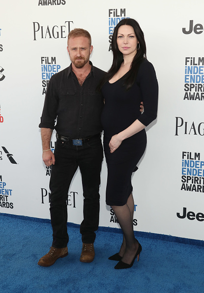 SANTA MONICA, CA - FEBRUARY 25:  Ben Foster and Laura Prepon attend the 2017 Film Independent Spirit Awads on February 25, 2017 in Santa Monica, California.  (Photo by Todd Williamson/Getty Images)