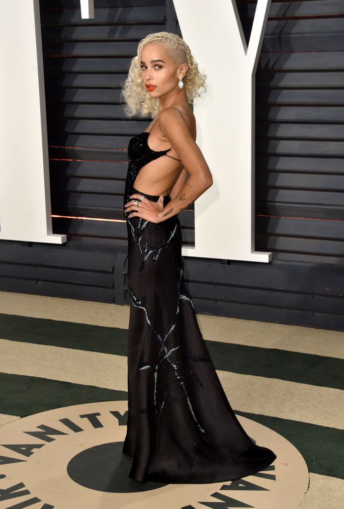attends the 2017 Vanity Fair Oscar Party hosted by Graydon Carter at Wallis Annenberg Center for the Performing Arts on February 26, 2017 in Beverly Hills, California.