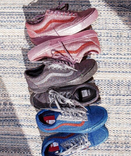 6af08c3c68e Opening Ceremony and Vans are dropping ultra glam sneakers that even Mariah  Carey would wear