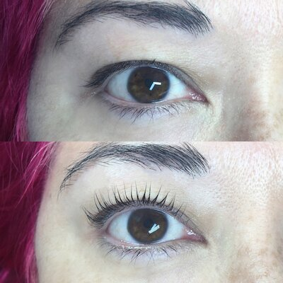 dd7bcf4f0ea If you're curious about getting a lash lift, read what happened when HG's  Beauty Editor got it done