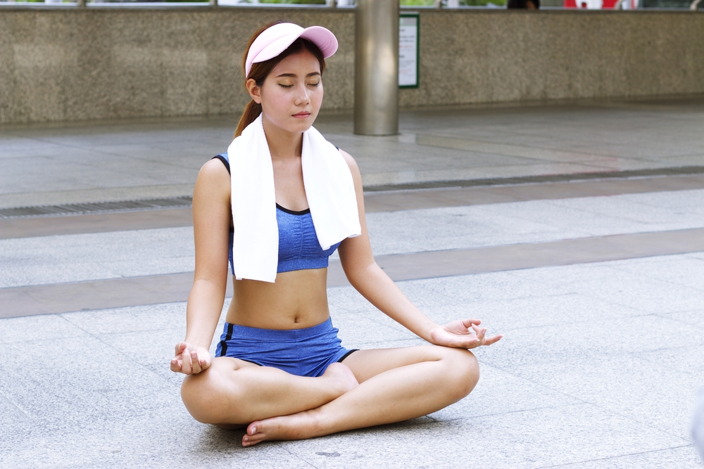 Here's why taking deep breaths actually calms you down