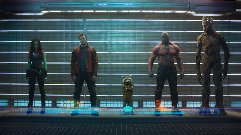 """Chris Pratt just shared an awesome behind-the-scenes photo of some insanely detailed aliens in """"Guardians of the Galaxy 2"""""""