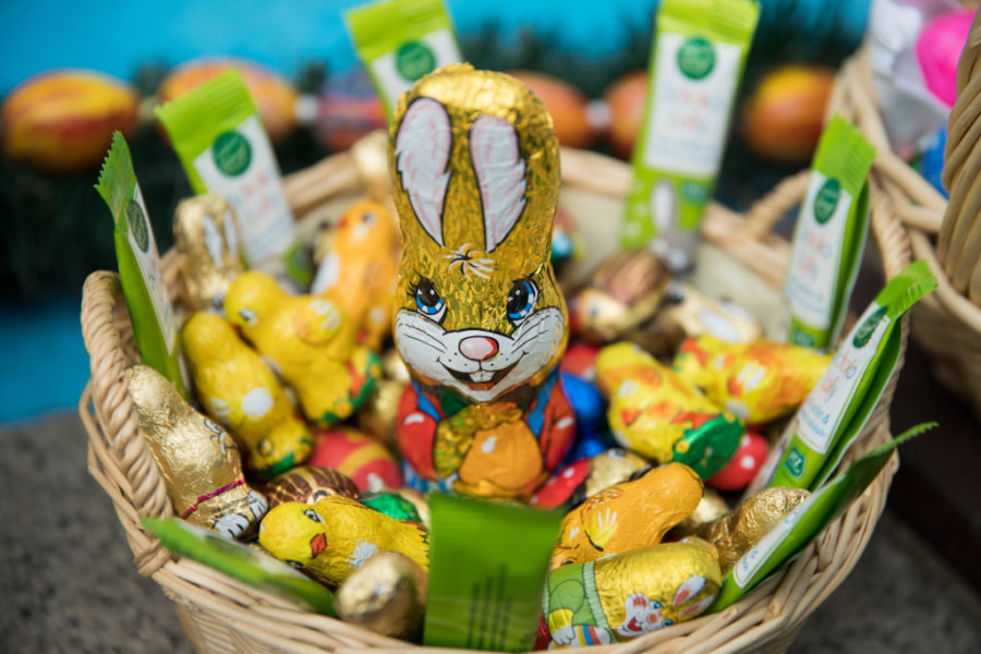 Feet up or ears down? Science says this is the most popular way to eat a chocolate Easter bunny