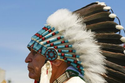 Just another reminder that Native American headdresses