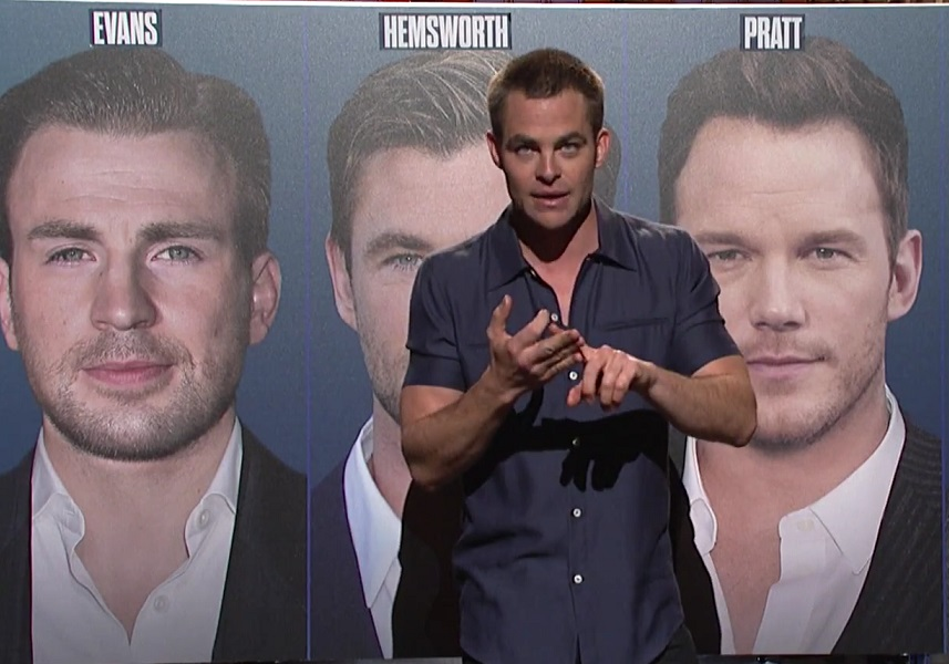 Chris Pine Used His Saturday Night Live Monologue To Finally Clear
