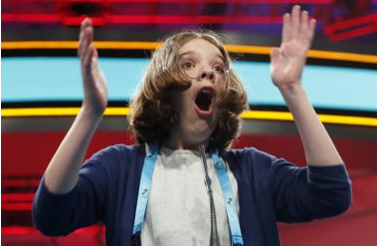 We want to be friends with this spelling bee contestant who