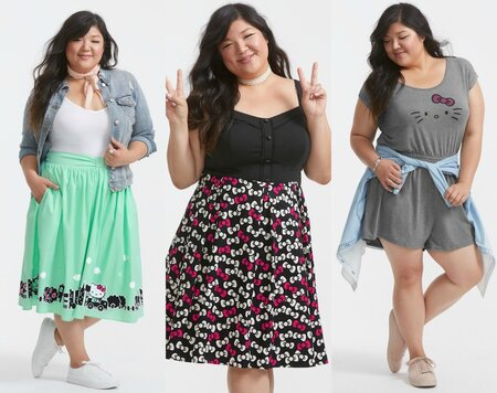 5136414d565 Sanrio and Torrid launched a Hello Kitty-inspired collection