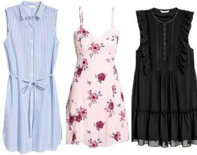 9ee34e2abe5c From a work-friendly shirtdress to a lacy goth mini, here are 13 dresses to  shop right now from H&M's huge sale
