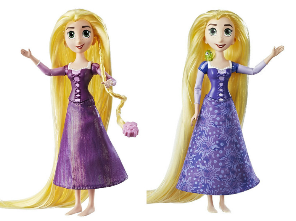 Disney's Tangled: The Series Rapunzel Doll and Disney's Tangled: The Series Musical Lights Rapunzel Doll