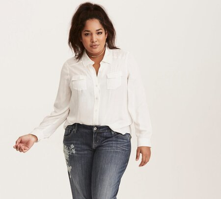 d046894d755 Torrid launched vintage-inspired denim styles that easily transition from  work to happy hour