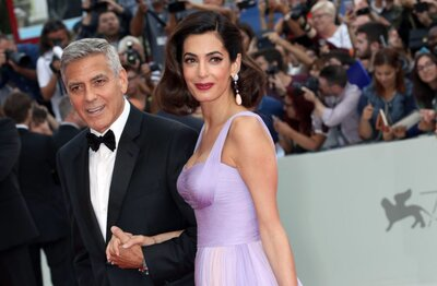 George Clooney revealed why he and Amal chose the names Ella and