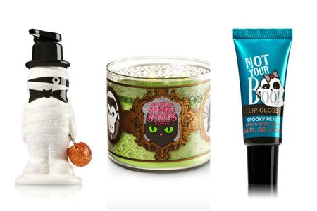 Bath Amp Body Works Released A New Halloween Collection Thats