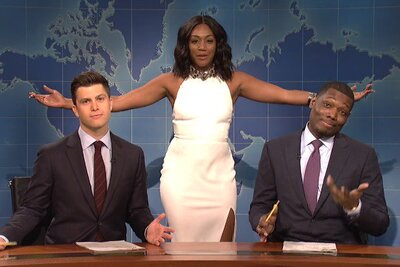 38e9ecb7f12 Tiffany Haddish was the first black female comedian to host SNL, and ...