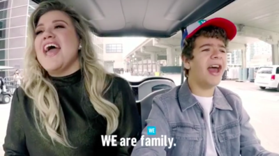 Gaten Matarazzo and Kelly Clarkson just crushed a duet to