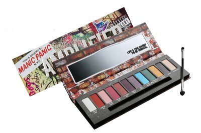 Manic Panic Released Its Amplified Eyeshadow Palette At Hot Topic