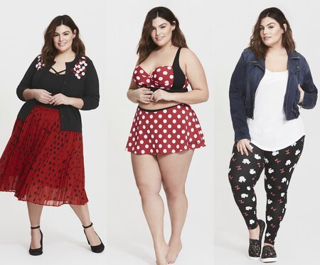 0199de5a208 Torrid released a Minnie Mouse-inspired fashion collection ...