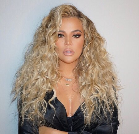 Khloe Kardashian Is Wearing Her Curly Hair More Because Of Her