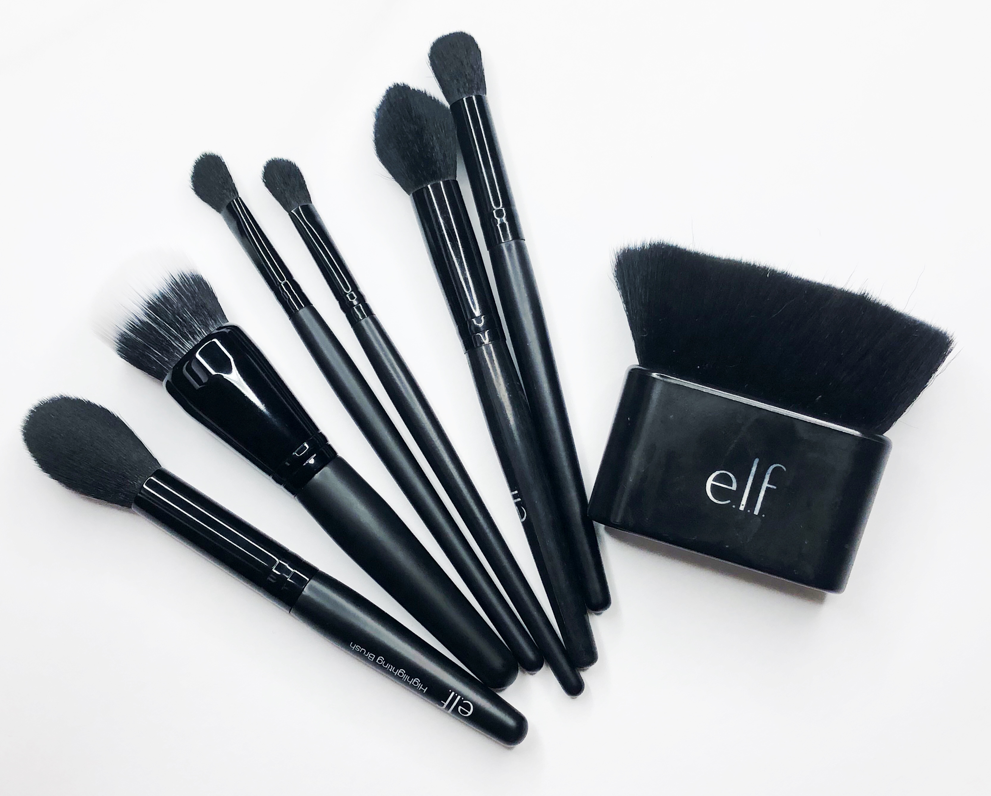 These E L F Cosmetics Makeup Brushes