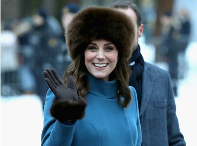 a626e593e Why Kate Middleton Didn't Wear Black at the BAFTAs for Time's Up ...