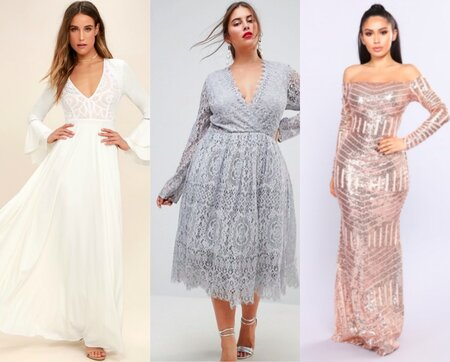 a3b07f0d4c12 14 Long Sleeve Prom Dresses To Shop - HelloGiggles