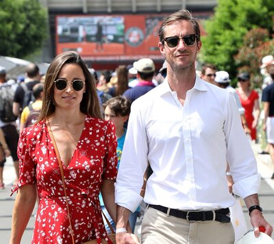 4bfcda3ea This is the pregnancy tip Pippa Middleton learned from Serena Williams