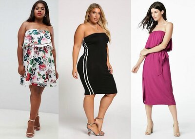 05ef6f8bf 16 Strapless Dresses for Big Boobs To Shop Before Fall - HelloGiggles