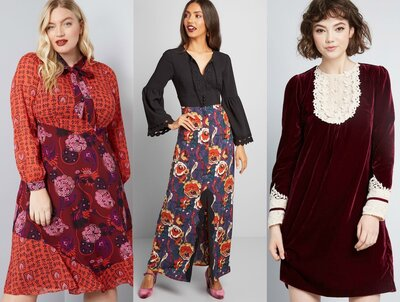 4e48ff7ac6 Modcloth and Anna Sui Launched a Size Inclusive Capsule Collection ...