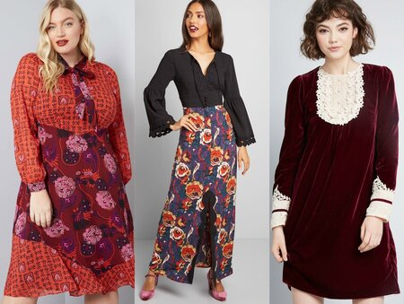 74950d506c765 This size-inclusive Modcloth x Anna Sui collab is a dream for vintage lovers