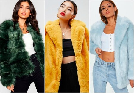 0db797e70d2 17 colorful faux fur coats that will spice up your outfits for the  gram