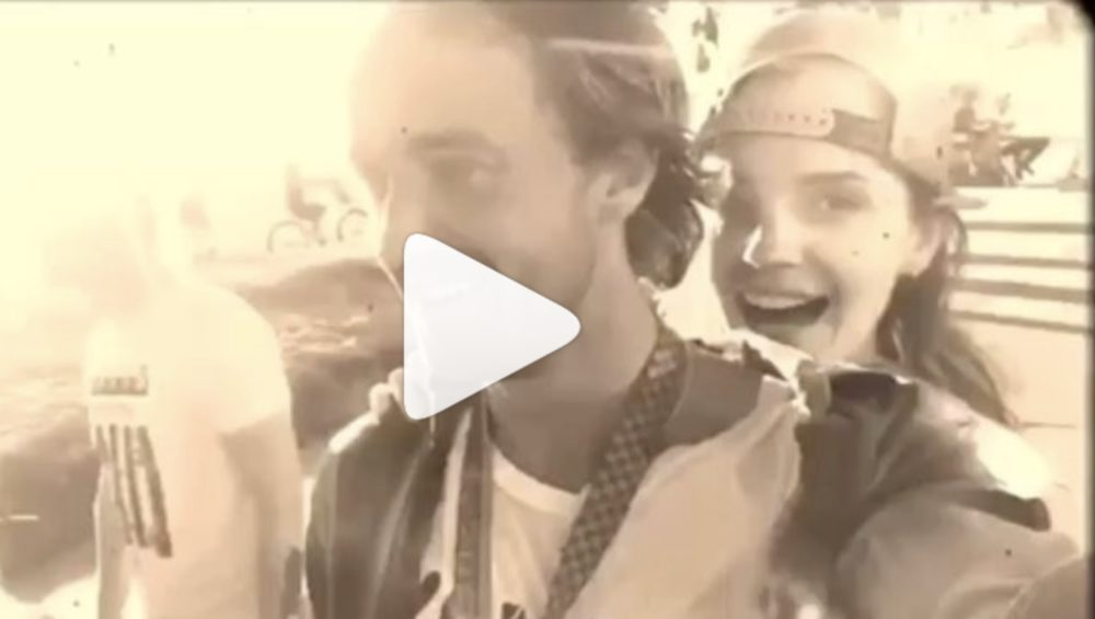 Emma Watson And Tom Felton Road A Skateboard Together Watch Video Hellogiggles