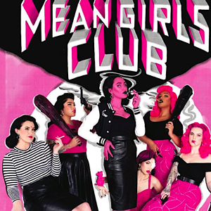 """4be188817 This sassy """"Mean Girls Club"""" pinup clothing collection will make  you ..."""
