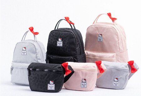This Hello Kitty x Herschel Supply collab is convincing us to trade our  purses for fanny packs 664acf762685f