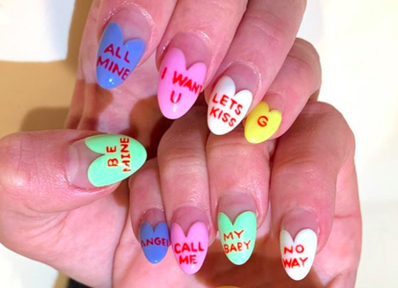 13 Valentine S Day Inspired Nail Art Ideas On Instagram Hellogiggles